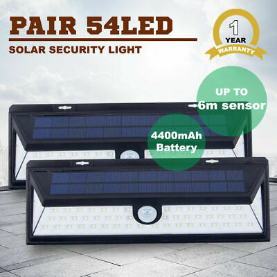 New 120 LED Solar Sensor Light Security Light Motion Detection Garden Flood