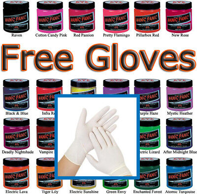 [Free Nitrile Gloves] Manic Panic High Voltage Classic Cream Hair Formula Color