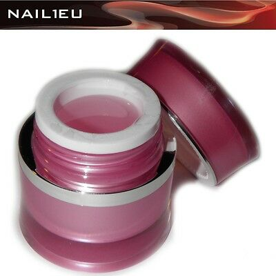 Buildup Fiberglass Gel Pink nail1eu 15ml / Reconstruction UV Nail FIBREGLASS
