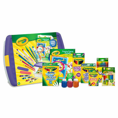 Crayola Mega Activity Tub - Bundle Pack of Crayola Colouring Products Bundle SET