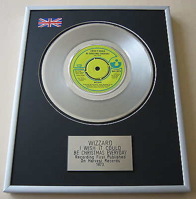 WIZZARD I Wish It Could Be Christmas Everyday PLATINUM SINGLE DISC PRESENTATION