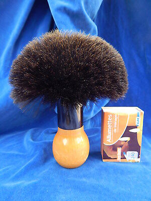 ANCIENNE GRANDE BROSSE DE COIFFEUR / Old big hairdresser brush - TOP !