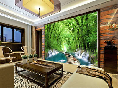 Keen Colorful Woods 3D Full Wall Mural Photo Wallpaper Printing Home Kids Decor