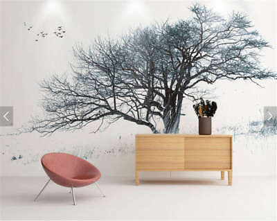 Keen Strong Tree 3D Full Wall Mural Photo Wallpaper Printing Home Kids Decor
