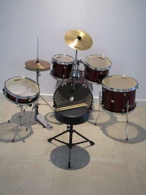 Ashton Junior Drum Kit - Includes Stool and Sticks