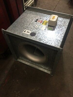 Elta Box Fan 0.44kW 900RPM 3-Phase Canopy Extractor Spray Booth 550mm