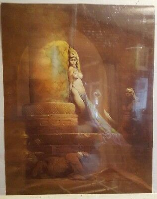 1979 Frank Frazetta Canvas Poster: Egyptian Queen Rolled & sealed 18x24