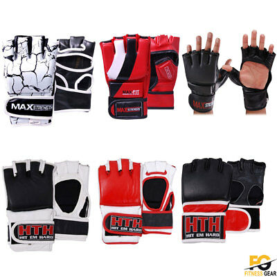 Grappling MMA Gloves UFC Boxing Punch Bag Fight Muay Thai Training Martial Arts