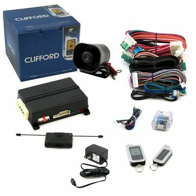 Clifford 5706X Car Alarm 2-Way Security Keyless Entry System With Remote Start