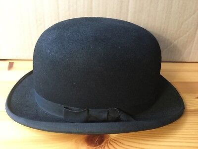 Vintage Bowler Hat Dunne And Company Size 7. 136 Lightweight Shop Display Cool