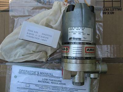 New ARO Low Pressure Material Fluid Regulator Pump Unit 651791-B3D-B