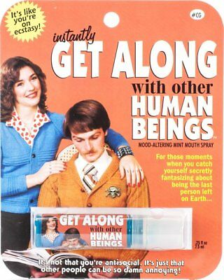 Breath Spray: Get Along With Other Human Beings