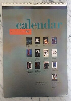V23 / 4AD 10th Anniversary Calendar, 1990 Boxed