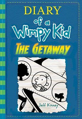 The Getaway Diary of a Wimpy Kid Book 12 Jeff Kinney Hardcover Children Book