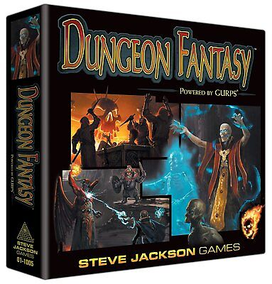 Dungeon Fantasy Powered by Gurps