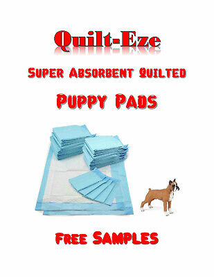 150 23x36-Quilt-Eze  Superior Absorbency Puppy Dog Pee Piddle  5-Layer Pads