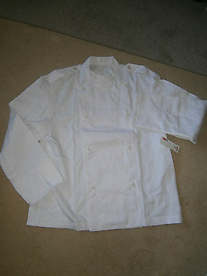 Chefs Jackets X 4 Four, Size 125R , Poly/cotton , New Old Stock.