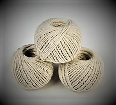 Pack of 3 Household Home Office Ball Of Cotton String Twine Rope Free Fast P & P