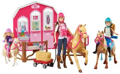 Barbie Pink Passport Horses and Ranch Giftset