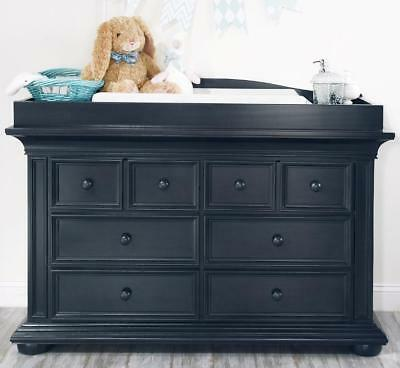 Oxford Baby Harlow 6 Drawer Dresser - Navy Midnight Slate