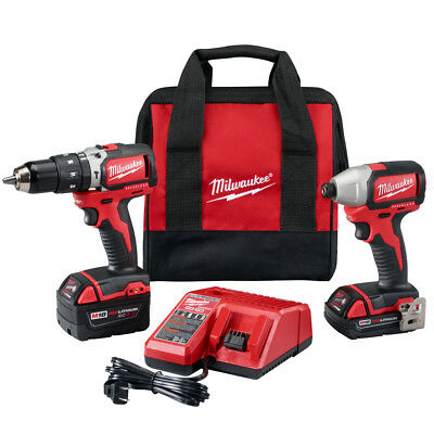 Milwaukee 2799-22CX M18 18-Volt Cordless Power Lithium-Ion 2-Tool Combo Kit