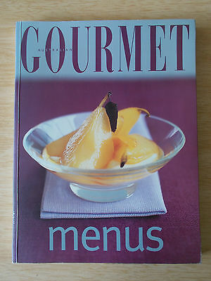 Australian Gourmet~Menus~Recipes~Cookbook~192pp P/B~2001~1st Edition