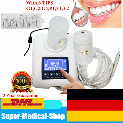 Ablatore Ultrasuoni Dental Ultrasonic Piezo Scaler fit EMS Manipolo Tips