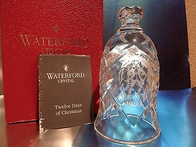 WATERFORD*1993*Twelve 12 Days of Christmas BELL*Ten Lords-a-Leaping**IRELAND*NIB