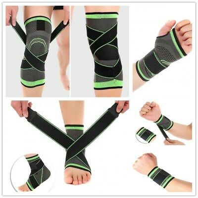 3D Weaving Breathable Sport Plam Wrap/ Knee Brace Pad / Ankle Support Brace Belt