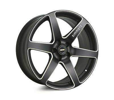 AUDI  Q3 WHEELS PACKAGE: 20x9.0 Simmons S6S Matte Black and Continental Tyres