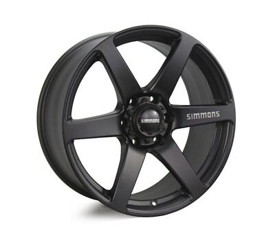 MITSUBISHI CHALLENGER WHEELS PACKAGE: 20x9.0 Simmons S6 Matte Black and Kumho Ty