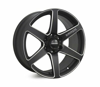 MITSUBISHI PAJERO 2006 TO CURRENT WHEELS PACKAGE: 20x9.0 Simmons S6S Matte Black