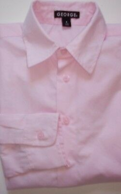 Girls Pink Show Riding Hacking Shirt Size 8