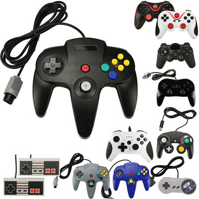 Wireless/Wired Game Controller Gamepad For Nintendo N64 / Wii /Gamecube GC Wii