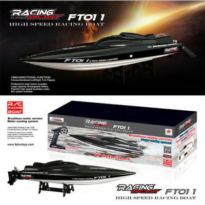 Feilun FT011 65CM 2.4G Water Cooled Brushless Motor RC Racing Boat with Remote