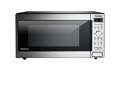 Opened Box Panasonic Nn Sd745s Countertop Built In Microwave 1 6 Cuft Stainless