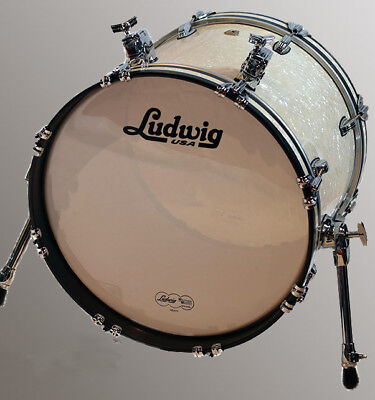 Ludwig Classic Maple Quick Pick Bassdrum LB848AANM VW-Marine Pearl