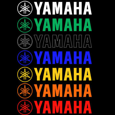 3D Fork Emblem Decals For Yamaha Fuel Tank Badge Motorcycle Stickers
