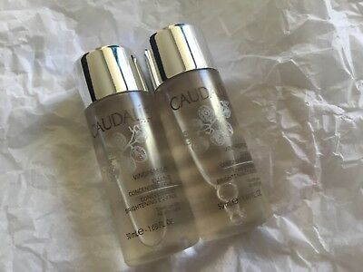 Caudalie Vinoperfect Concentrated Brightening Essence 50ml x2 travel size bn