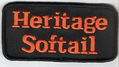 MADE IN USA! 4x2 HARLEY DAVIDSON HERITAGE SOFTAIL PATCH