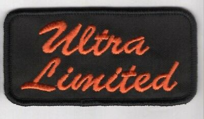MADE IN USA! 4x2 HARLEY DAVIDSON ULTRA LIMITED PATCH