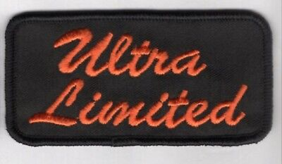 MADE IN USA! 4x2 HARLEY ULTRA LIMITED PATCH