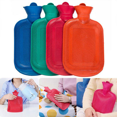 New 2L Liter Large Hot Water Natural Rubber Bottle Warmer Small 500 Ml