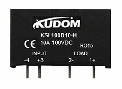 Kudom 10A Pcb Mount Solid State Relay Mosfet 10-28Vdc Ksl100D10-H