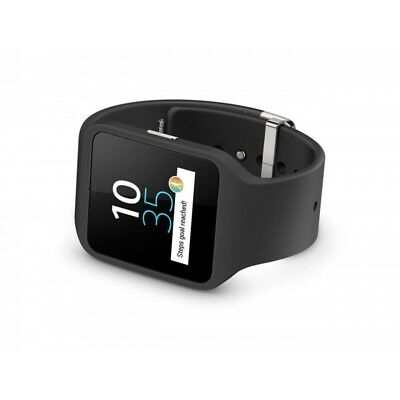 Sony SmartWatch 3 SWR50 with Silicone Strap - Black