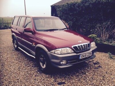 DAEWOO MUSSO 2.9TD, Full MOT, 7 seats, Mercedes engine, reliable, good condition