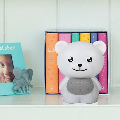 Baby Asleep Sound Machine 3 Natural 3 Lullaby With Nightlight Bear Nursery Decor