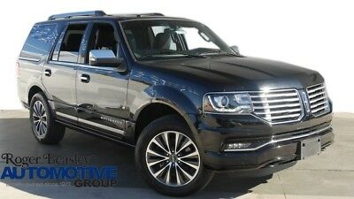 2017 Lincoln Navigator Select Sport Utility 4-Door 2017 LINCOLN NAVIGATOR LEATHER NAV REAR CAM SUNROOF HEATED SEATS ALLOY WHLS