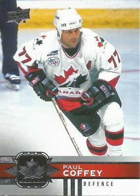 Paul Coffey #100 - 2017-18   Canadian Tire Team Canada - Base