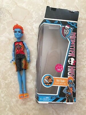 """Monster High 11"""" Doll HOLT HYDE SWIM CLASS JUSTICE EXCLUSIVE BEACH"""